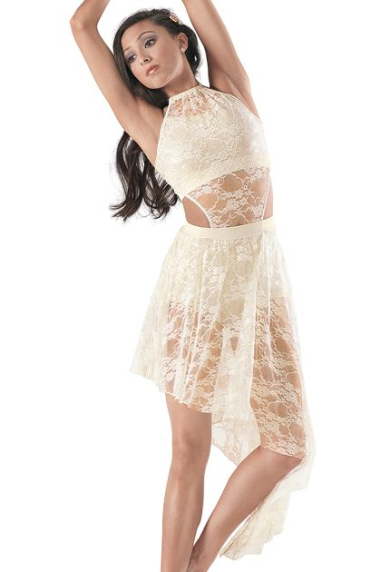 Weissman™ | Sequin Top & Brief w/ Lace Overdress-Everyone's Waiting