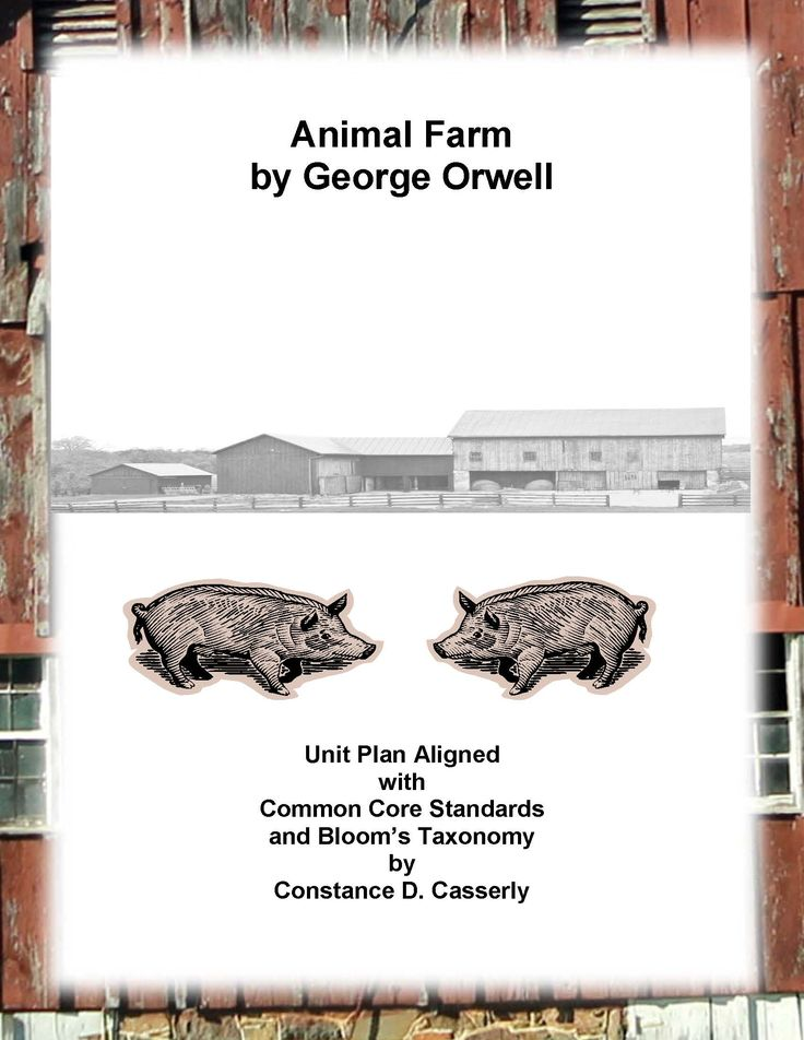 the lessons that george orwells animal farm can teach us George orwell lesson plans and worksheets from activity to george orwell's animal farm lesson help with teaching themes and symbols in animal farm.