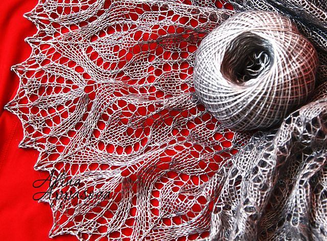 Ravelry: Lale Lace Shawl pattern by Alina Appasov