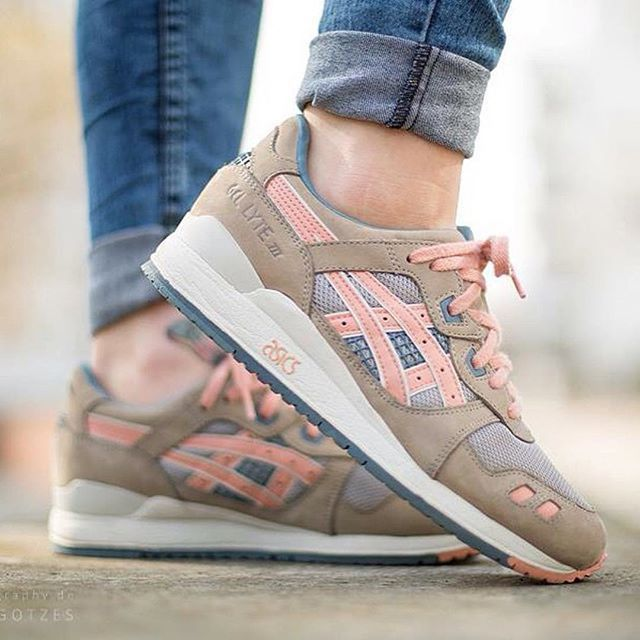 follow me @cushite Tendance Basket 2017 Sneakers femme Asics Gel Lyte III