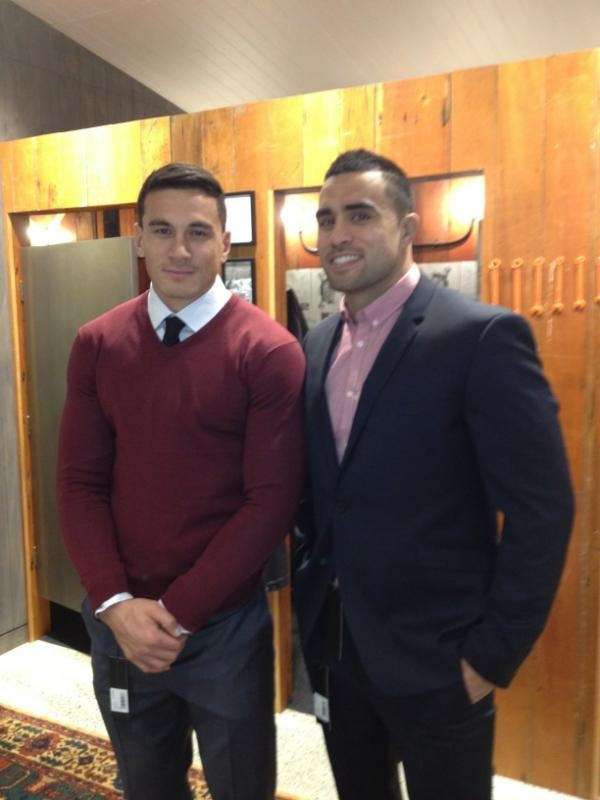 Sonny Bill Williams & Liam Messam