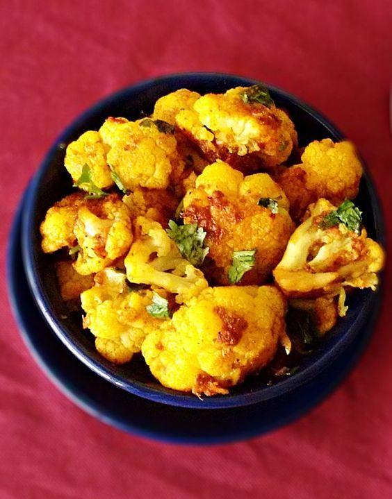 Lasuni gobi recipe - Cauliflower with garlic . Step by step with pictures how to make Lasuni gobi recipe - Cauliflower with garlic .