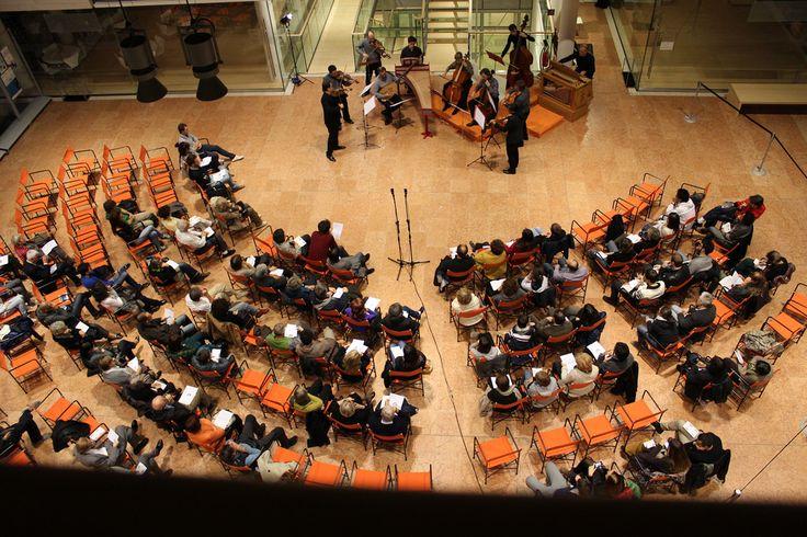 Il museo è anche una sala da concerto.  Foto: Enrico Ptretto