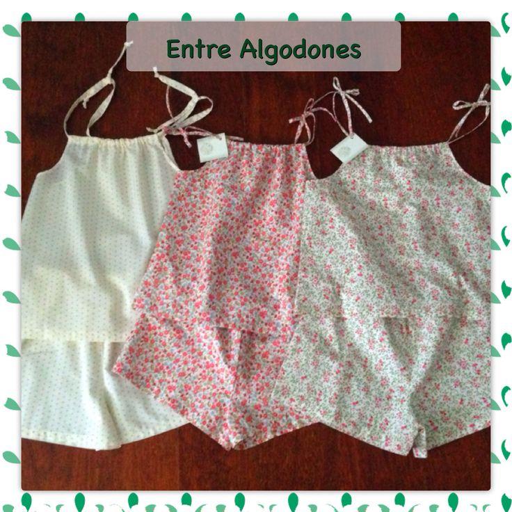 Pijamas verano niña