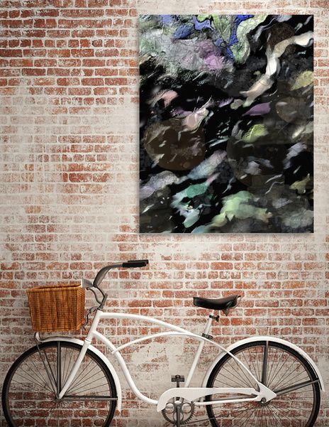 Découvrez «Storm clouds», Édition Limitée Oeuvres sur Toile par Richard Raveen Chester - À partir de 75€ - Curioos