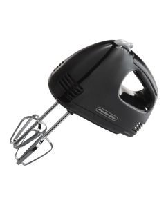 Proctor Silex 62507 5-Speed Easy Mix Hand Mixer in Black: For $13, this hand mixer will give you everything you could ask for in a small friendly appliance. It weighs only 1.9 pounds and is a perfect match for younger cooking companions.
