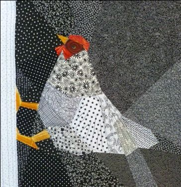 Crafts of Colrain & Two New Chicken Quilts