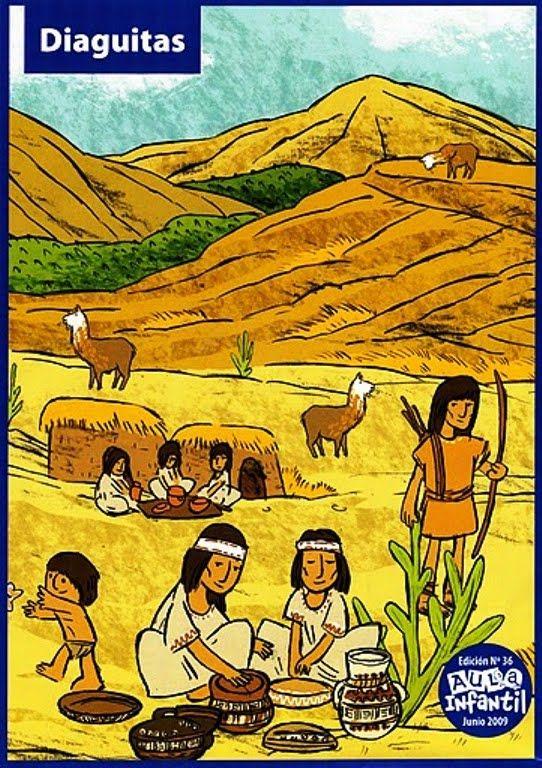conozcamos chile: colorear dia de los pueblos originarios de Chile