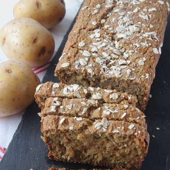 Supersaftig limpa helt utan vetemjöl som inte behöver jäsa. Potatis är fiber- & vitaminrik vilket gör brödet ännu nyttigare!