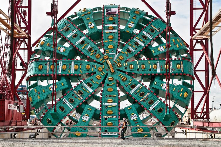 The World's Largest Tunnel-Boring Machine Meet the 25,000-horsepower Bertha.