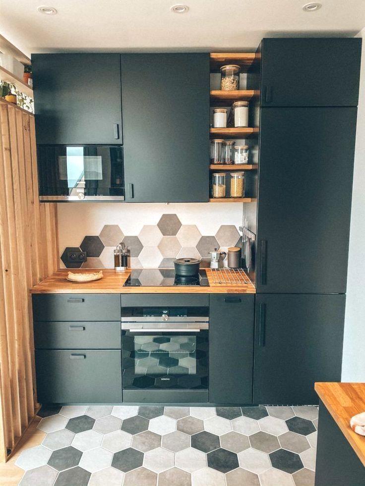 39 Classy Kitchen Cabinets Apartment Project En 2020 Cuisine Ikea Noire Cuisine De Petit Appartement Amenagement De La Cuisine