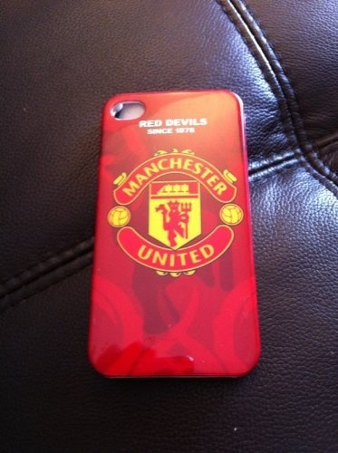 Iphone 4 Manchester Utd Case by Millennia Products. $7.99. http://yourdailydream.or...