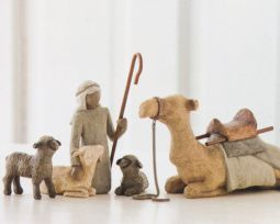 Willow Tree Shepherd and Stable Animals from the AngelSuperStore.com