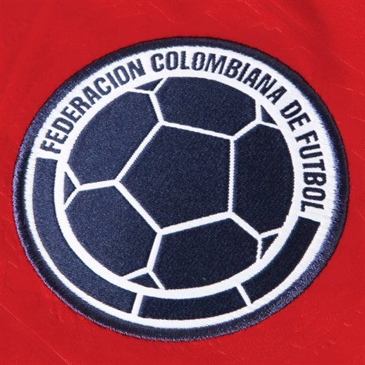 adidas Colombia Red Replica Away Soccer Jersey