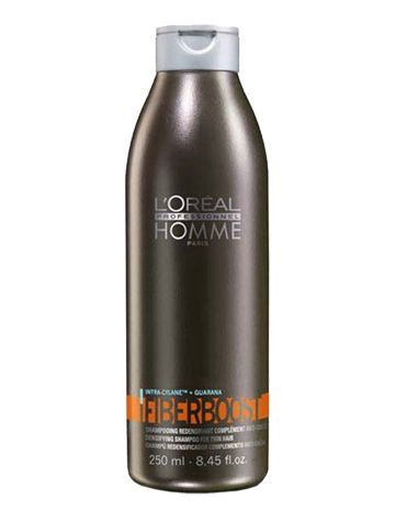 Loreal Homme Fibre Boost Şampuan 250 ml - Erkekler İçin Saç Dökülmesine Karşı Şampuan Erkeklere özel saç dökülmesini önleyen şampuandır. Tüm erkek saç tipleri için kullanılabilir. Saçın dökülmesine sebep olan faktörlerle savaşır. Saçı güçlendirir ve canlılık katar. Günlük kullanıma uygundur. Uygulama Şekli  Nemli saça uygulanır. Durulanır. Yoğun saç dökülmesi için Loreal Homme Renaxil Losyon ile bakımın desteklenmesi tavsiye edilir.  www.elizehair.com