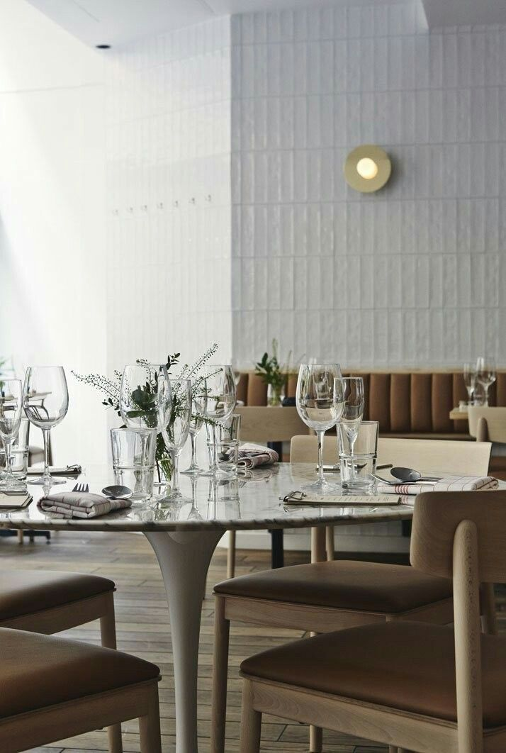 april saw the opening of the new michel restaurant and bar in downtown helsinki finland designed by joanna laajisto creative studio - Beaded Inset Restaurant Interior