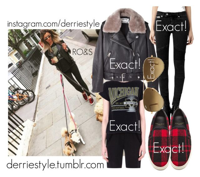 """Eleanor Calder / Instagram Picture 05.22.2015"" by randomoutfitsandstyle ❤ liked on Polyvore featuring Maje, Acne Studios, AllSaints, Yves Saint Laurent, Ray-Ban, GetTheLook, eleanorcalder, eleanorcalderinspired, eleanorcalderstyle and Calder"