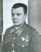 Lieutenant-General Polenov Vitaly Sergeevich (January 13, 1901 - July 8, 1968), Soviet military commander. Commander of 247th Rifle Division, 243th Rifle Division, 29th Army operations group, 31th Army, 5th Army, 47th Army and 108th Rifle Corps in WWII.