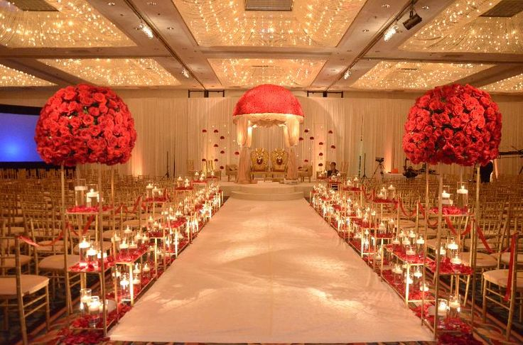 Our Grand Ballrooms beautiful Austrian crystal chandeliers add the extra touch of glam to your ceremony or reception!
