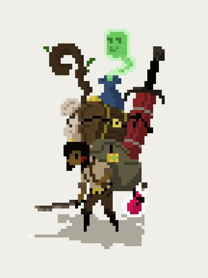 125 Best Pixel Heroes Images On Pinterest Pixel