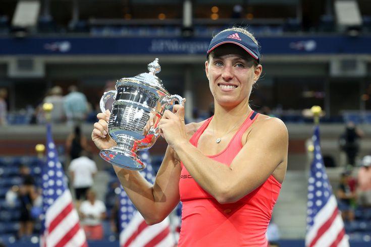 September 10, 2016 - 2016 US Open Women's Singles Champion Angelique Kerber…