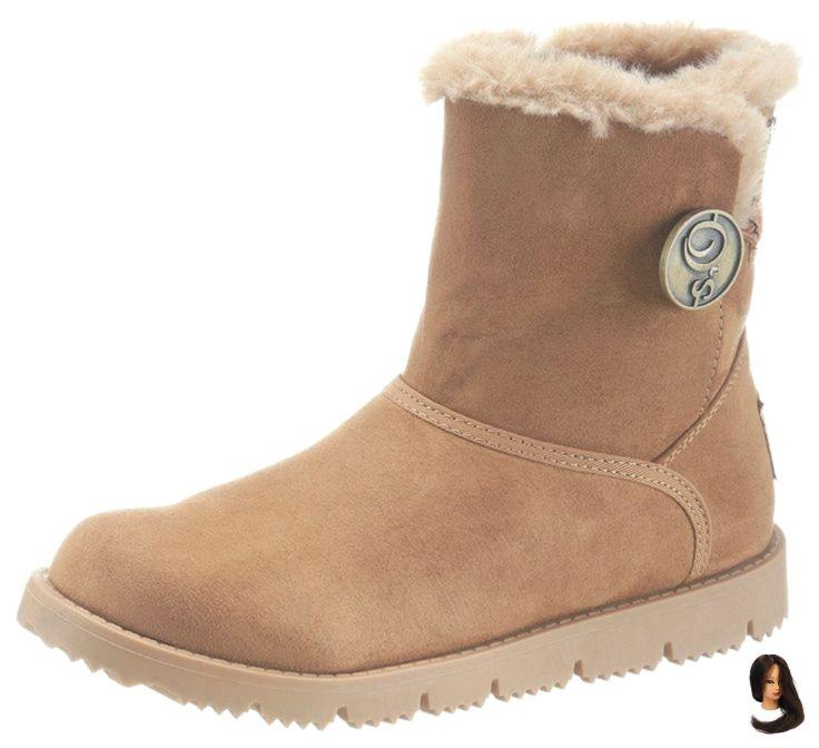 Winterstiefel Winter Stiefel SOliver Damenmode Boots Damen