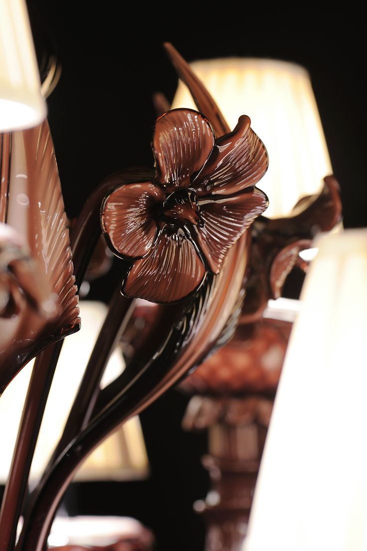 ....Is it chocolate? - #Soirée collection #murano #glass #chandelier #design #handmade #chocolate