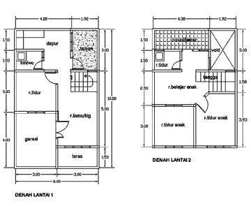desain rumah minimalis 2 lantai 6x10   desain rumah, rumah