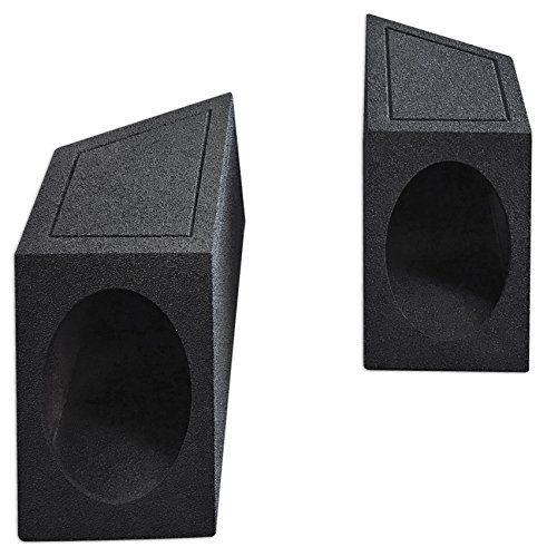 "87-95 Jeep Wrangler YJ 6x9"" Speaker Box Enclosures 4 Rear Wheel Well w/Bedliner:   Features:/p 1987-1995 Jeep Wrangler YJ 6x9"" Speaker Box Enclosures - Rear Wheel Well Ledgesbr Black Bedlinerbr 5/8"" MDF Woodbr Angled Design to fit Jeep YJ Seriesbr Gold Post Terminalbr 4.75"" Mounting Depthbr Width: 8.5""br Depth: 22.75""br Height: 8.5"""