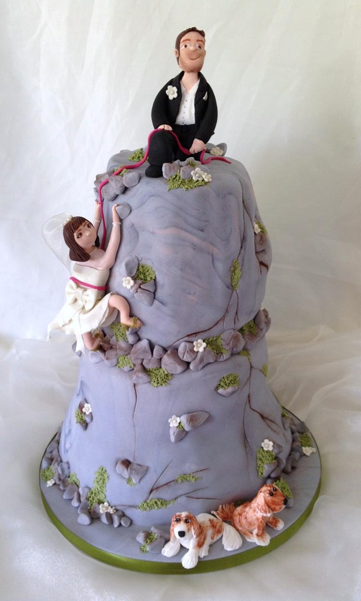rock climbing wedding cake toppers 24 best rock climbing cakes images on rock 19248
