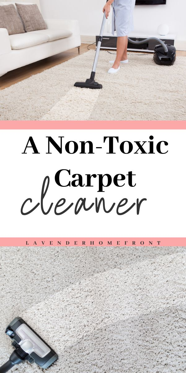 Non Toxic Carpet Cleaner With Images Carpet Cleaners