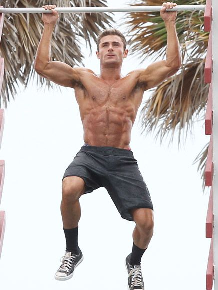 Need a Lift? Zac Efron Carries Sacha Baron Cohen on Baywatch Set – Before Flaunting Ripped Muscles Doing Pull-Ups http://www.people.com/article/zac-efron-sacha-baron-cohen-pull-ups-baywatch-set-photos
