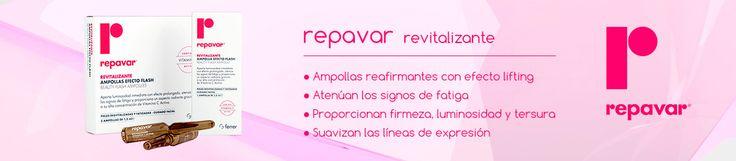 10,45€ PVP - 5 ampollas flash revitalizantes #Repavar http://farmaciafucar.com/repavar-revitalizante-ampolla-efecto-flash-5-amp.html