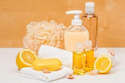 Duschgel selber machen - Duschgel Rezept für ein Grapefruit Duschgel