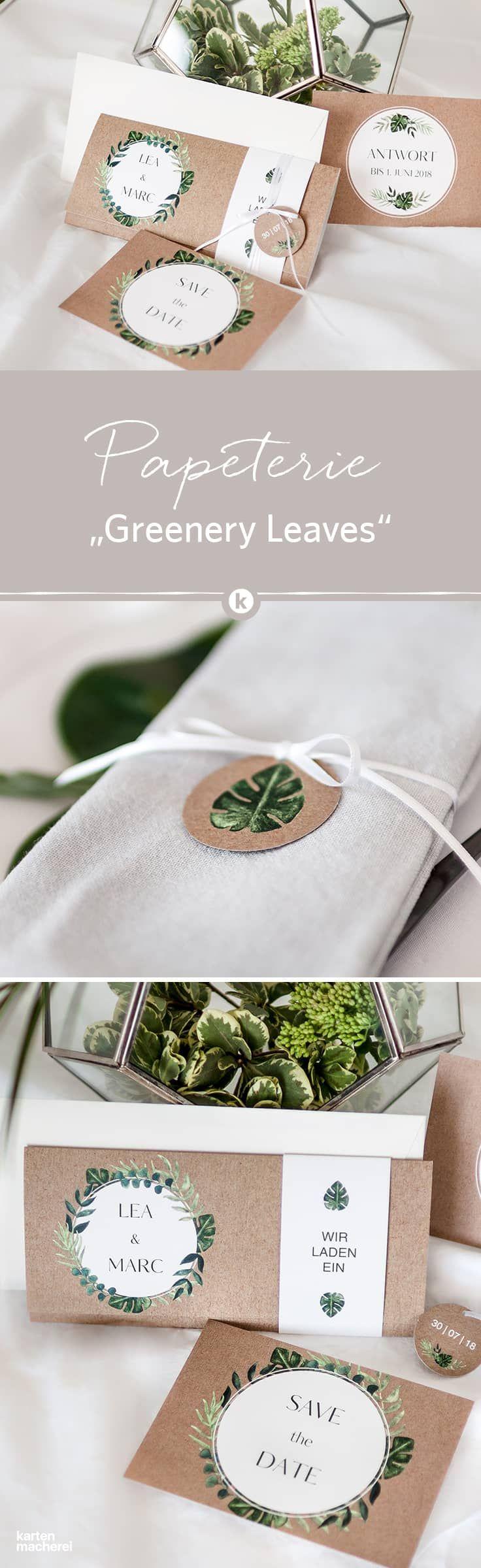 Von der Save the Date Karte bis zur Einladungskarte: die Hochzeitspapeterie &#39…