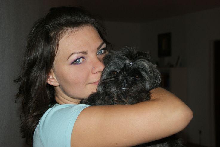 My sister Emi :) #shihTzu #dog #puppy #thebest