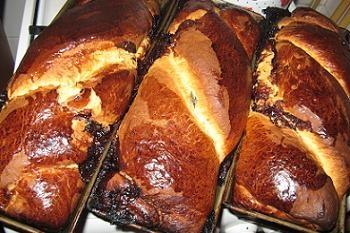 homemade puffcake (cozonac de casa)
