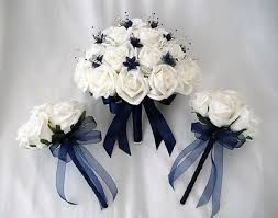 Posies   Artificial Wedding Flowers   Brides With 2 Bridesmaids Posy  Bouquets Inu2026