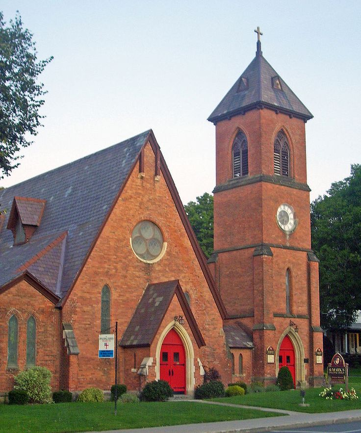 St. Mark's Episcopal Church in Rensselaer County, New York