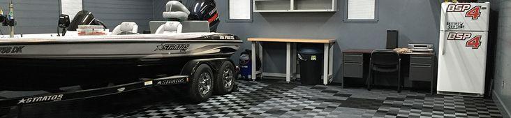 Car Garages, Boat Garages, any garages need Garage Flooring! #GarageFlooring