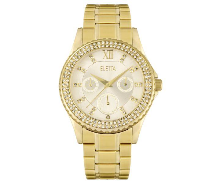 Relógio Eletta Lux Gold - ELA340MBMG
