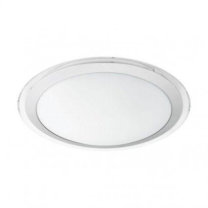 EGLO Connect COMPETA-C LED RGB Wand u. Deckenlampe 430mm rund weiß Bluetooth App
