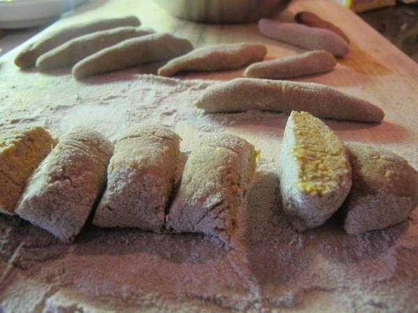 Fluffige Gnocchi - verschiedene Varianten - Kartoffeln oder Süßkartoffeln, Eier und Kartoffelmehl, Butter & Käse, Milch & Sahne
