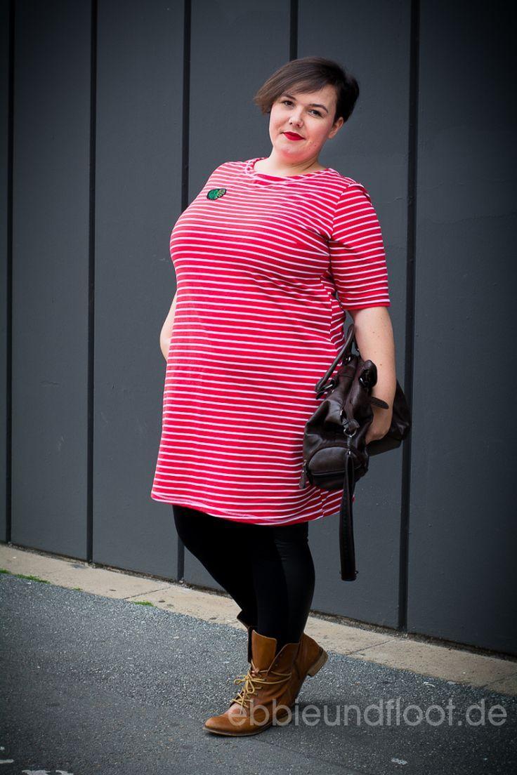 Plus Size Schnittmuster Kleid – Nähen für mollige Frauen und Outfit Tipps