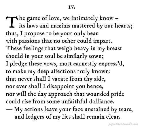 Never Gonna Give You Up if it was written by Shakespeare. This is wonderful.