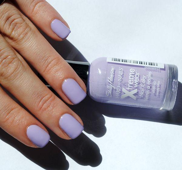 Lilac Nail Color: 25+ Unique Lavender Nail Polish Ideas On Pinterest