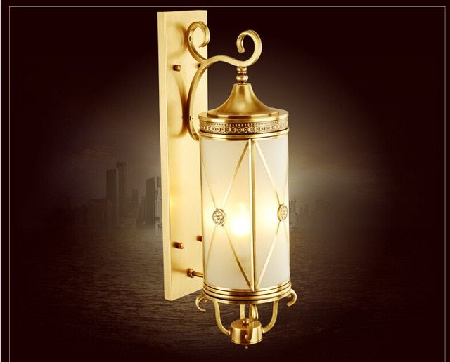 Wall Lights Made Of Copper And Brass For Outdoor Use Home Interior Design Ideas Wall Lights Copper Wall Light Brass Wall Light