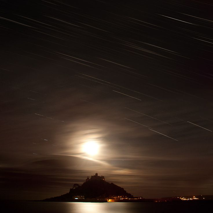 St. Michael's mount and stars