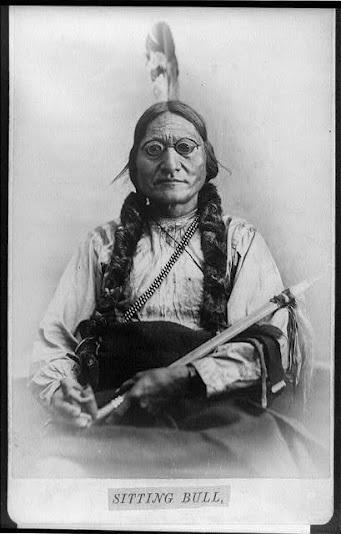 Sitting Bull - Hunkpapa - circa 1885