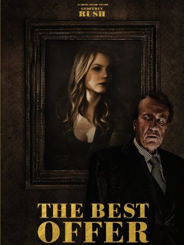 Geoffrey Rush is stunning as an eccentric art auctioneer obsessed with an heiress in this compelling mystery. Also stars Donald Sutherland.